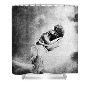 Nude Love Scene, 1890s Shower Curtain