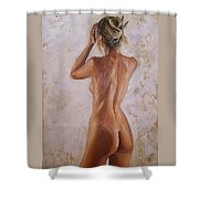 Nude Shower Curtain