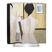 Nude Of M.b. Shower Curtain