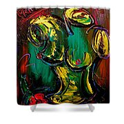 Nude Painting Shower Curtain