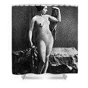 Nude Posing, C1855 Shower Curtain