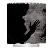 Nude Shadows 7 Shower Curtain