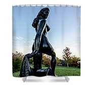 Nude Statue Shower Curtain