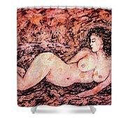 Nude Venus Shower Curtain