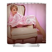 Nude Woman Model 1722  015.1722 Shower Curtain