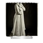 Nude Woman Model 1722  022.1722 Shower Curtain
