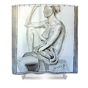 Nude Woman Viii Shower Curtain