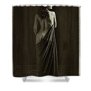 Nude Young Woman 1718.500 Shower Curtain