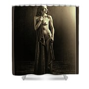 Nude Young Woman 1718.501 Shower Curtain