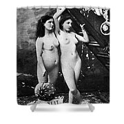 Nudes At Festival, C1900 Shower Curtain