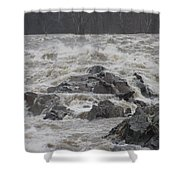 Potomac Torrent Shower Curtain