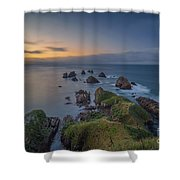 Nugget Point Shower Curtain