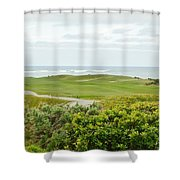 Number 1 From The Whites At Spanish Bay Shower Curtain