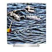 Number 19 Shower Curtain