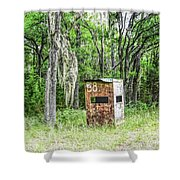 Number 38 Shower Curtain