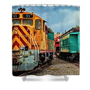 Number 93 Shower Curtain