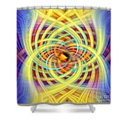 Number Four Shower Curtain