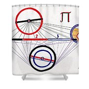 Number Shower Curtain