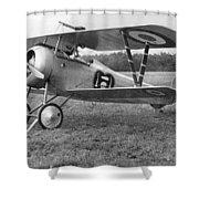 Nungesser's Nieuport 17 Shower Curtain