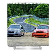 Nurburgring Race Track Shower Curtain