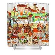Nuremberg Germany Shower Curtain