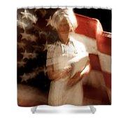 Nursing America Shower Curtain