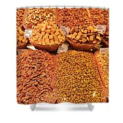 Nuts And Candy Shower Curtain