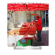 Nuts Seller Shower Curtain