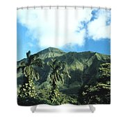 Nuuanu Pali Shower Curtain