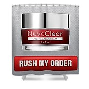 Nuvaclear Cream Shower Curtain