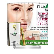 Nuvega Lash Shower Curtain