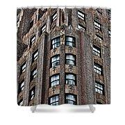 Ny Brick 11 Shower Curtain