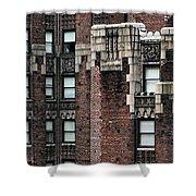 Ny Brick 4 Shower Curtain