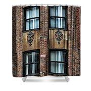 Ny Brick Details Shower Curtain