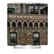 Ny Bricks 2 Shower Curtain