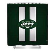 Ny Jets Football Shower Curtain