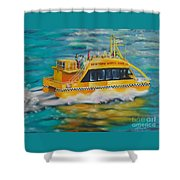 Ny Water Taxi Shower Curtain
