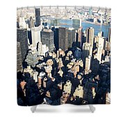 Nyc 4 Shower Curtain