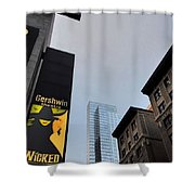 Nyc-and The Other Was Shower Curtain
