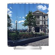 Nyc Battery Park Shower Curtain