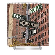 Nyc Broadway 2 Shower Curtain