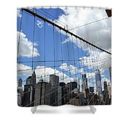 Nyc Catch Me If You Can Shower Curtain
