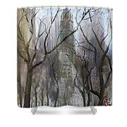 Nyc Central Park 1995 Shower Curtain