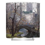 Nyc Central Park Shower Curtain