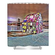 Nyc Color  Shower Curtain