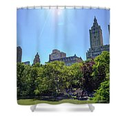 Nyc From Central Park Shower Curtain