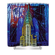 Nyc Icons Shower Curtain by Gary Grayson