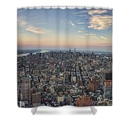 Nyc North Shower Curtain