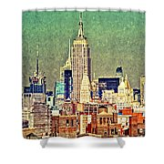 Nyc Scaped Shower Curtain