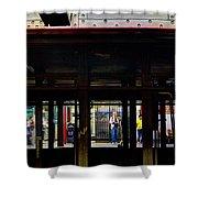 Nyc Subway Platform 283 Shower Curtain